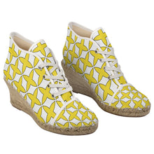 Load image into Gallery viewer, Constellation Ladies Wedge Espadrilles
