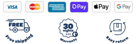logos of payment options to buy Zleep, Australia's best cervical pillow for neck pain