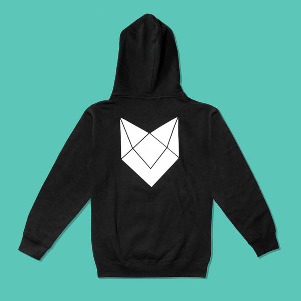 Premium Hooded Pullover Sweatshirt Black