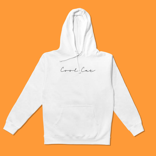 Premium Hooded Pullover Sweatshirt White