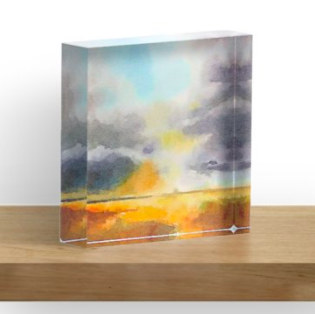 Acrylic Block - Dust