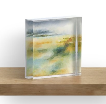 Acrylic Block - River