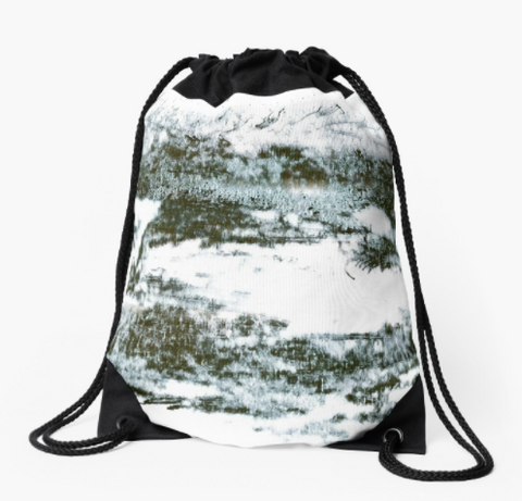 Drawstring Bag - Zen II Design