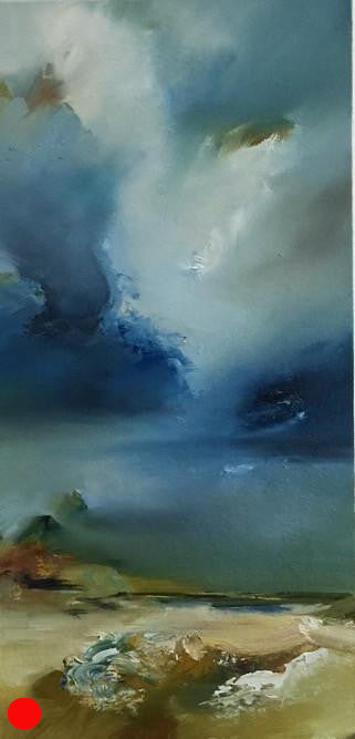 Landscape and Cloud by Joanne Duffy