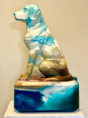 Sunny Donation Dog by Joanne Duffy