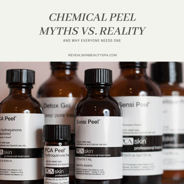 Chemical Peel Myths VS. Reality
