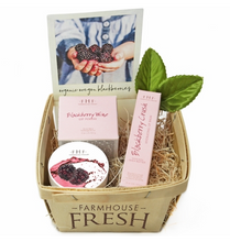 Load image into Gallery viewer, Farmhouse Fresh Blackberry Lip Gift Basket Pittsburgh