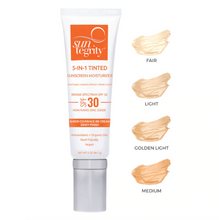 "Load image into Gallery viewer, ""5 In 1"" Natural Moisturizing Face Sunscreen - Tinted, Broad Spectrum SPF 30"