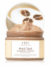 Load image into Gallery viewer, Farmhouse Fresh Triple Shot Caramel Coffee Shea Butter Body Polish Pittsburgh