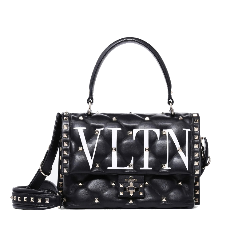 Medium VLTN Candystud Top Handle Bag