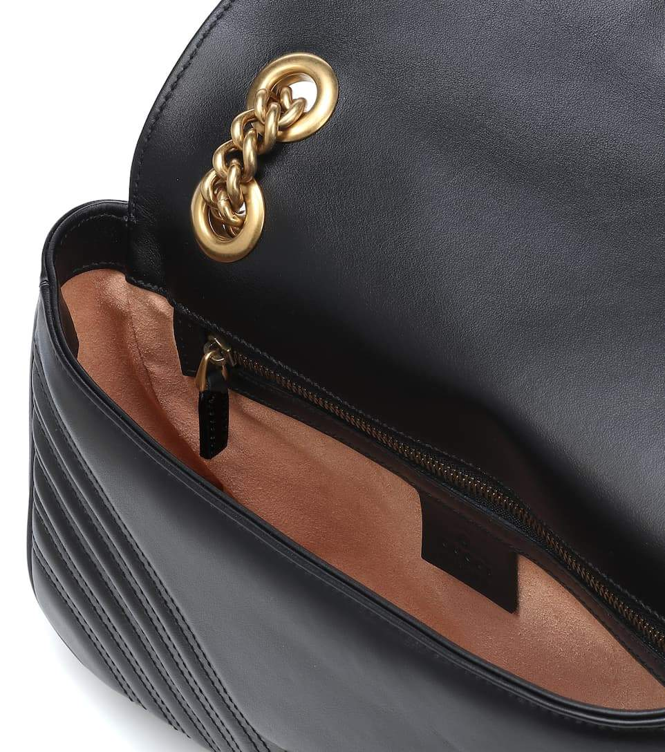 Marmont leather shoulder bag