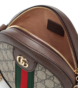 GG Ophidia Round Bag