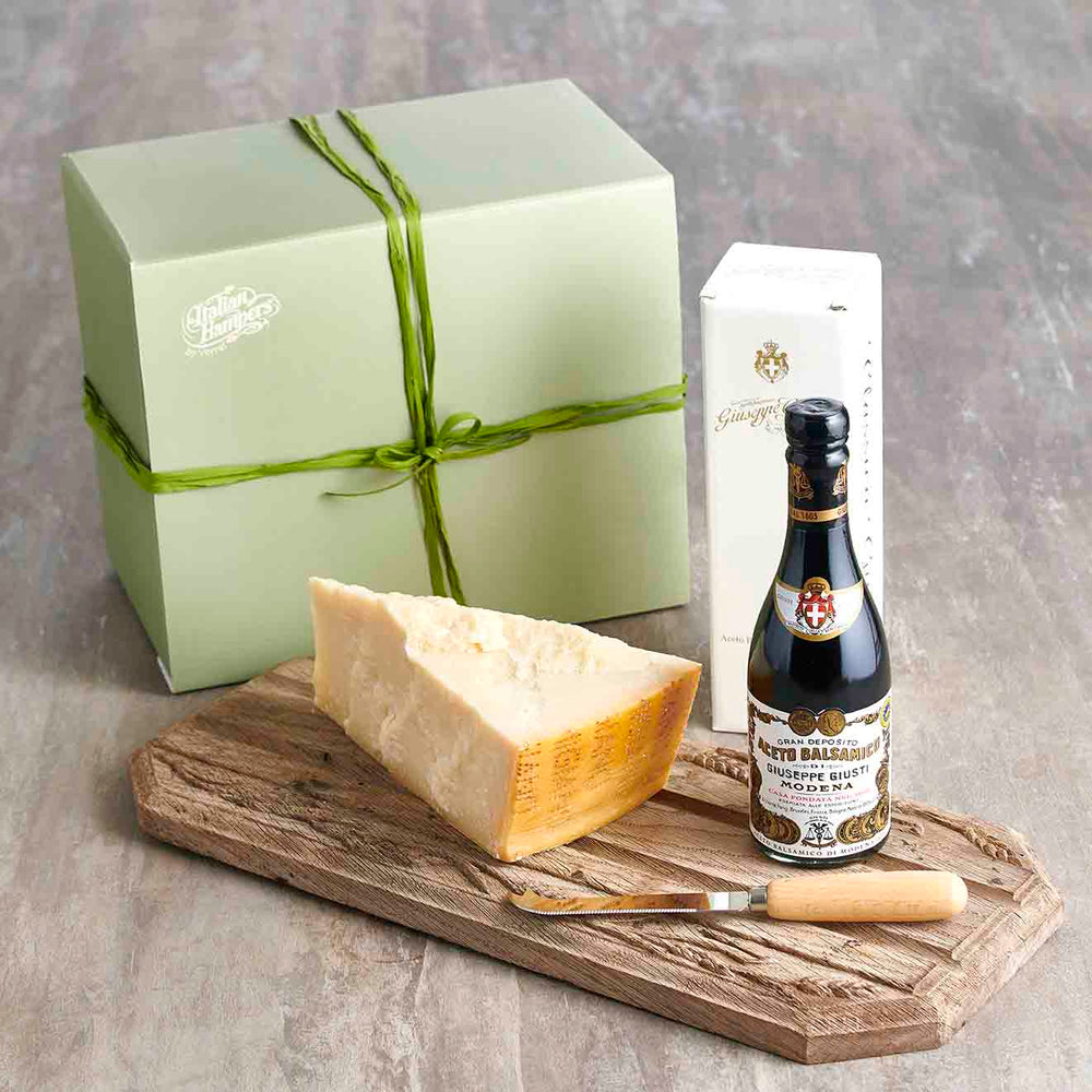 Italian Parmesan and Aged balsamic Vinegar hamper