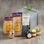 Fish Hamper with pasta and sauces