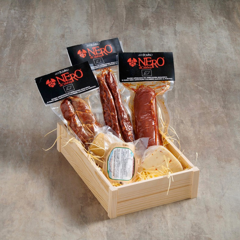 Italian Salame and cheeses hamper