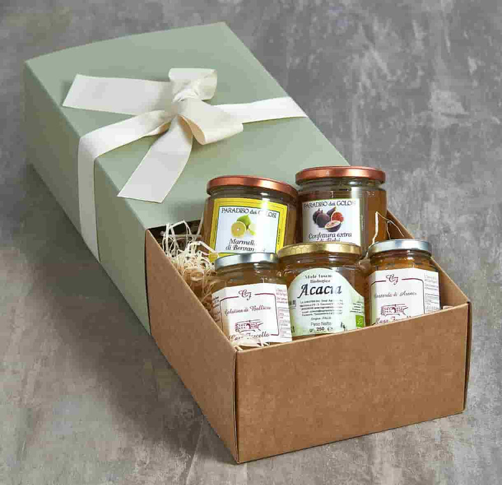 cheese accompaniments hamper
