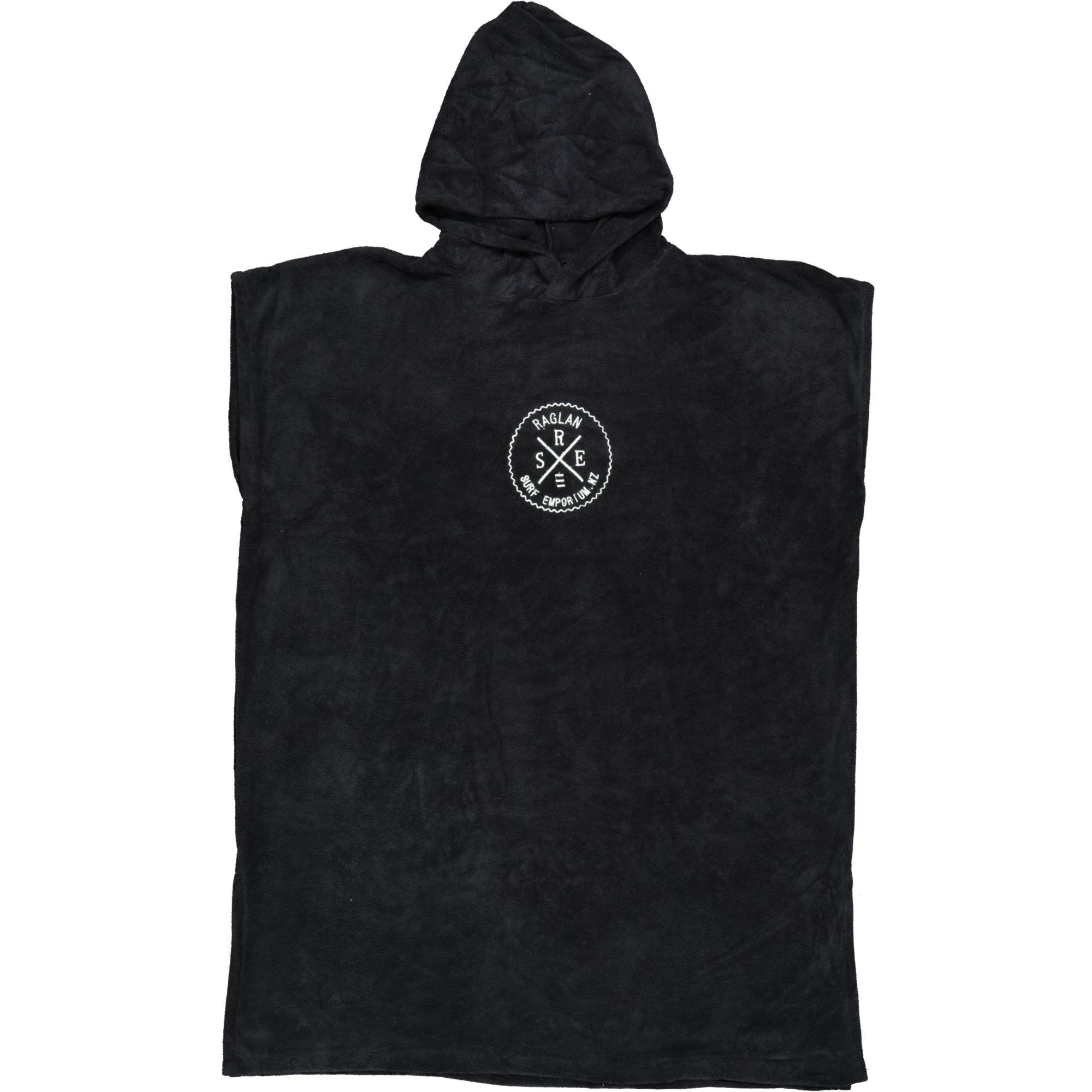 RSE Hooded Towel Black