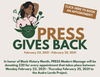 PRESS Gives Back: $20 for every massage goes to The Audre Lorde Project from 2/22-2/25
