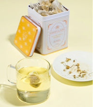 Load image into Gallery viewer, Chamomile Herbal, Classic Tin of 20 Sachets