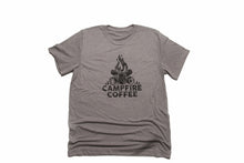 Load image into Gallery viewer, Campfire Coffee Light Weight Tee
