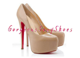GSS1005 Super High Stiletto Nude