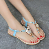 Pearl Detail Ladies Sandals, Flip Flops Beach Summer
