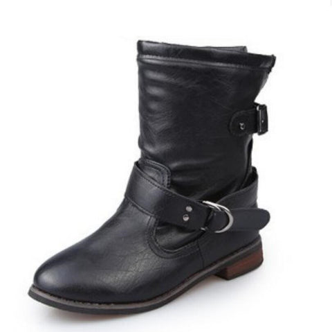 Biker Ankle Boots GSS1149