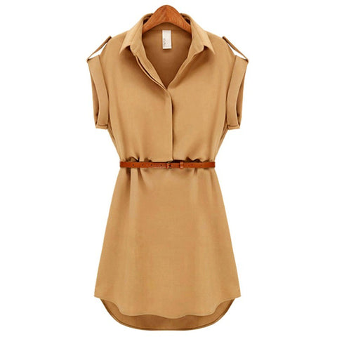 Ladies Summer Party Beach Mini Dress