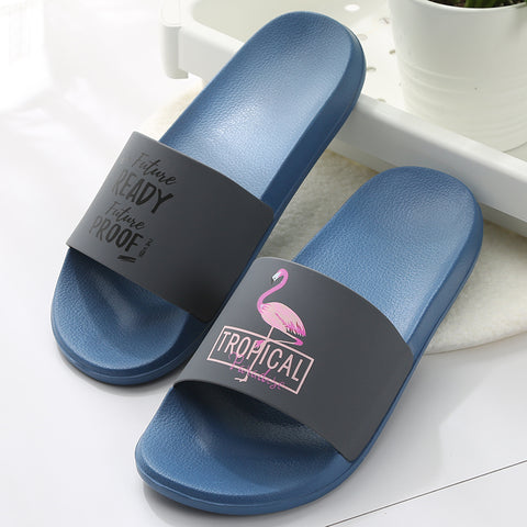 Flamingo Slippers Women Summer Beach Slides GSS1068