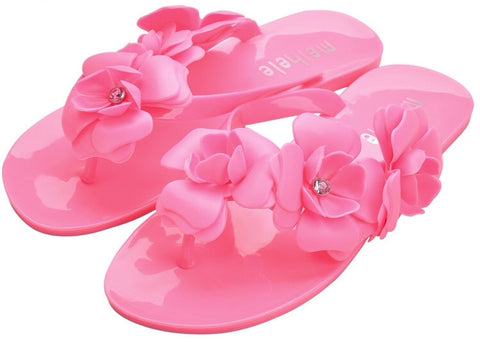 Frances-Jelly Flower Sandals GSS1033