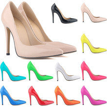 Delacour-Neon Stiletto Court Shoes GSS1074