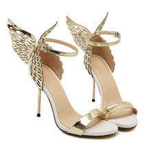 Butterfly Heel Stiletto Sandals GSS1099