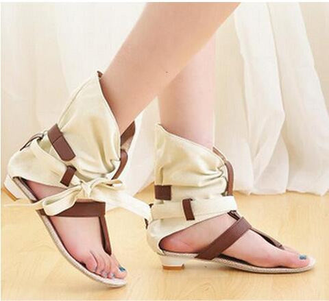 Gladiator Flat Sandals Plus Size to 43 GSS1064