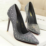 Holly Ave-Crystal Stiletto Party High Heels GSS1047