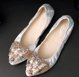 GorgeousSexyShoes Party Foldable Ballerina Flats Pump GSS1128