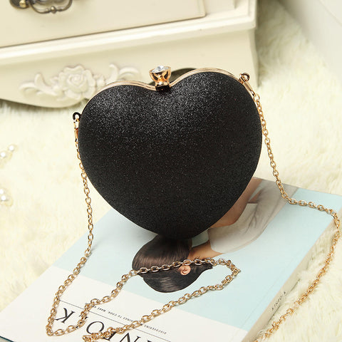 Tinkin Mini Women Heart Pearl Bag Fashion Evening Bag Part Time Must Have Bag Best Shoulder Bag Mobile Phone Case