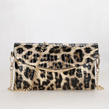 Woman Evening Bag Leopard Wallet Wedding Party Banquet Shoulder Bag Fashion Clutch Purse Evening Bags PT1100