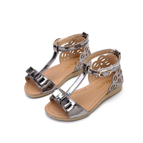 girls Bow tie sandals