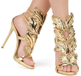 Gorgeous Designer Inspired Leaf Sandals GSS1124