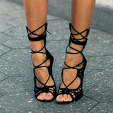 Cut Out Gladiator Style Sandal High Heels GSS1106