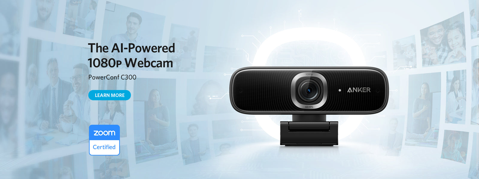 Anker Coupon Codes - Webcam PowerConf C300 @ just $129.99