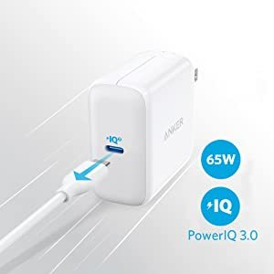 65W PIQ 3.0 Type-C Charger