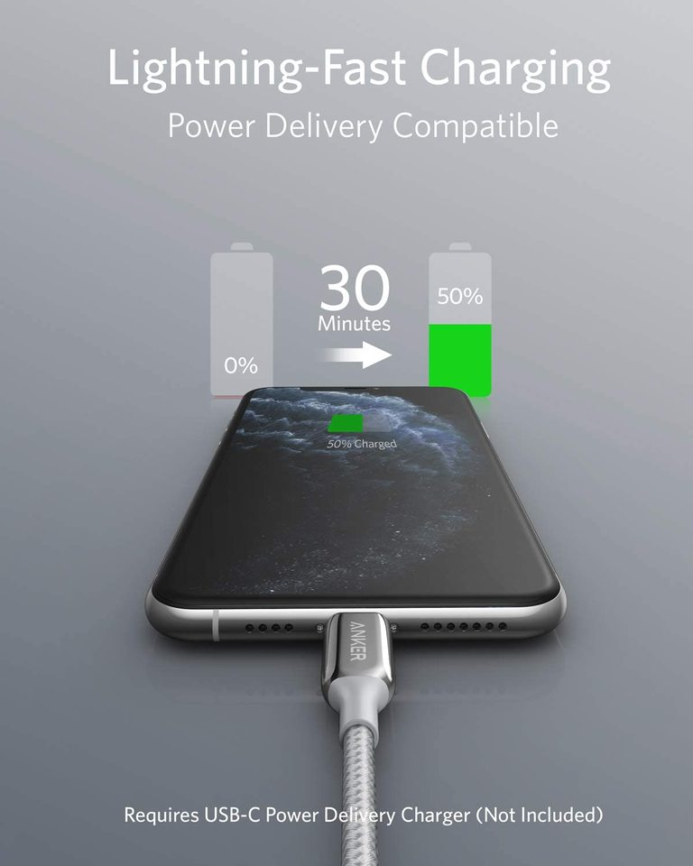 PowerLine+ III USB-C to Lightning Cable
