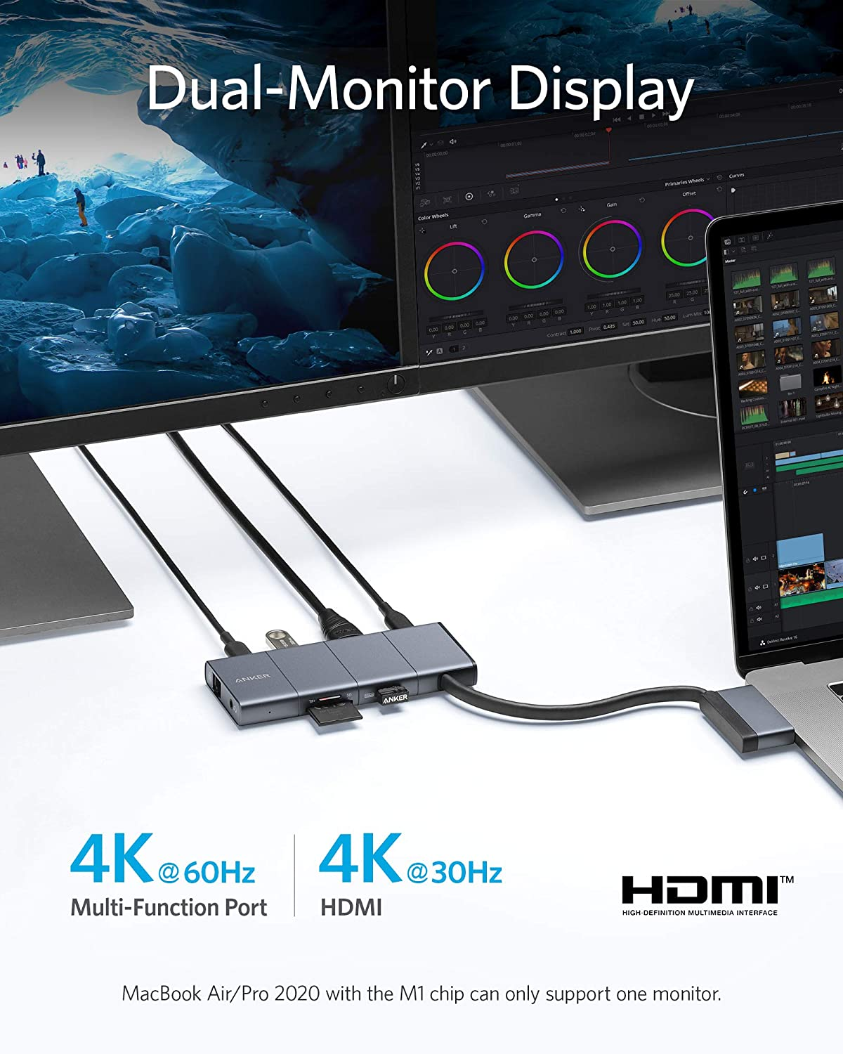 PowerExpand 9-in-2 USB-C Media Hub