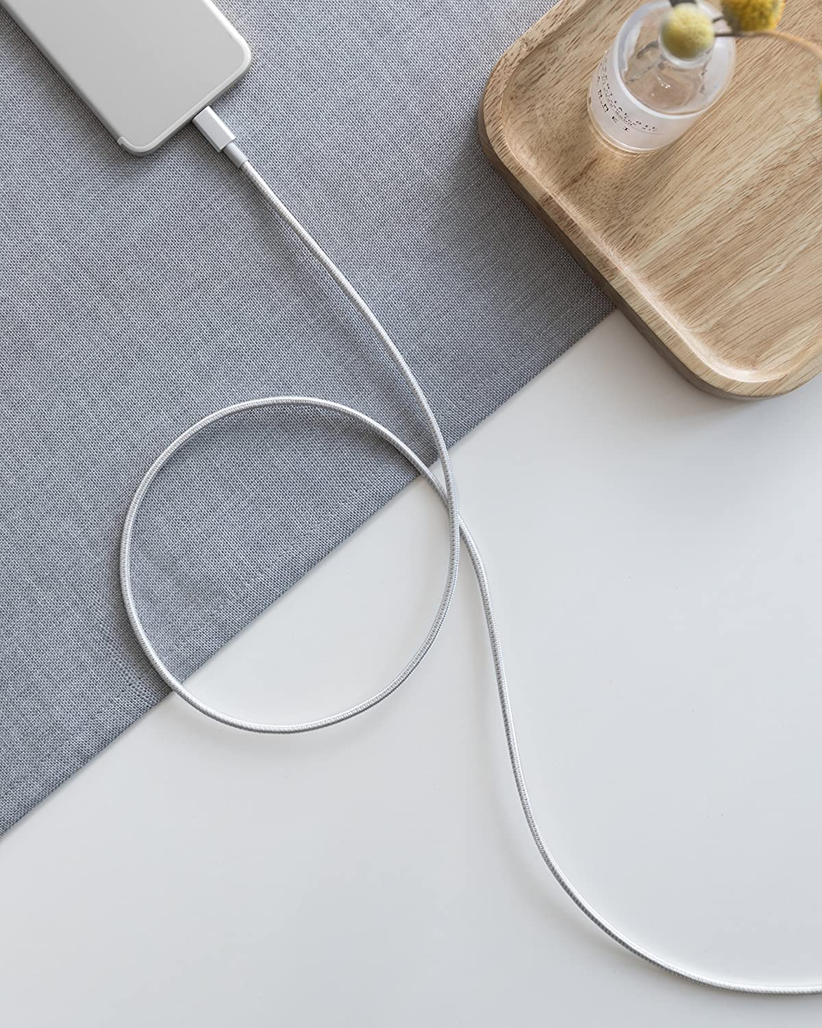 New Nylon USB-C to Lightning Cable