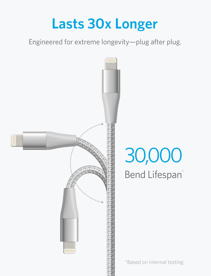 PowerLine+ II 3ft Lightning Cable