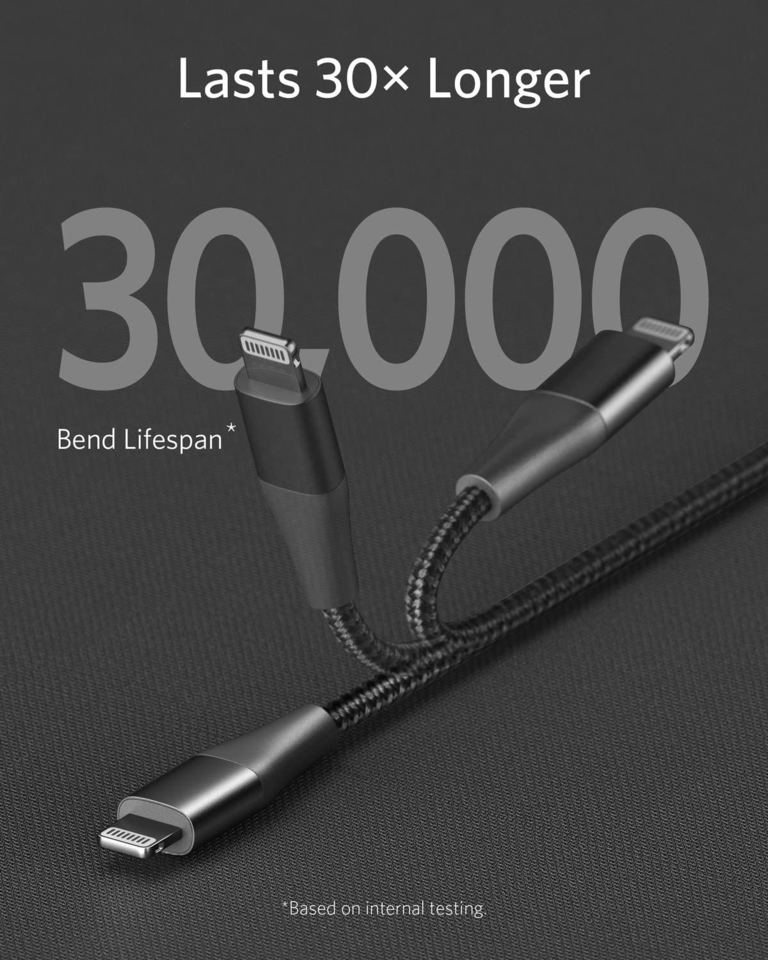 USB C to Lightning Cable [3 ft Apple Mfi Certified]
