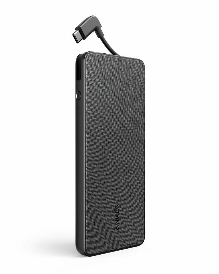 PowerCore+ 10000 with Built-in USB-C Cable Portable Charger