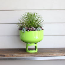 Load image into Gallery viewer, Lil Gas Medium Planter - Matt White