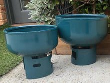 Load image into Gallery viewer, Lil Gas Medium Planter - Teal